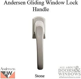Gliding Window Lock Handle, Perma-Shield - Stone