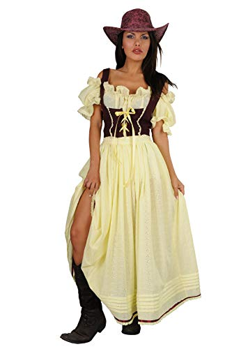 chiber - Disfraz Chica Saloon Vaquera Mary