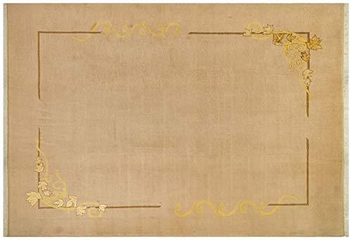 ALLMODE Moderner Oushak Teppich, handgefertigt, Größe: 202 x 291 cm.