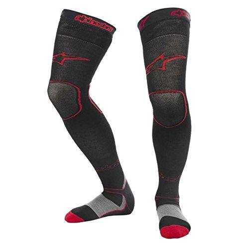Alpinestars Unisex-Erwachsene lange Mx Socken rot Lg-2X (Mehrfarbig, Einheitsgröße