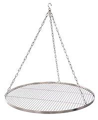 80 cm Edelstahl für Schwenkgrill