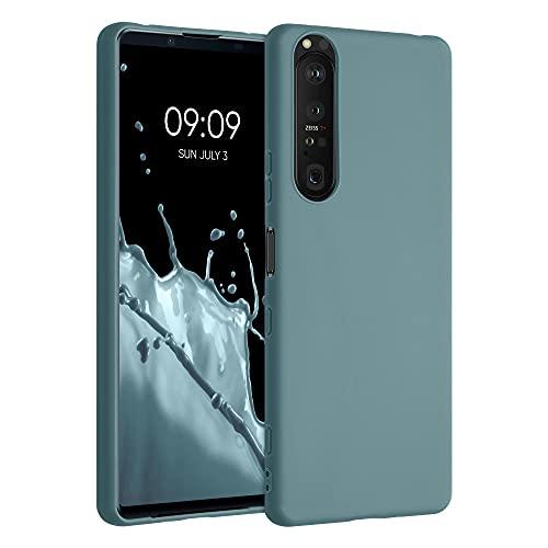 kwmobile Hülle kompatibel mit Sony Xperia 1 III - Hülle Silikon - Soft Handyhülle - Handy Hülle in Arctic Blue