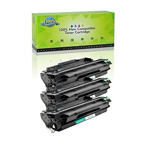 NineLeaf High-Yield Compatible Toner Cartridge Replacement for HP 51X Q7551X Laserjet M3027 MFP M3027x M3035 M3035xs P3005 P3005d P3005dn P3005n P3005x Laser Printer (3 Black)