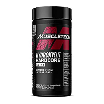 Weight Loss Pills for Women & Men | Hydroxycut Hardcore Elite | Weight Loss Supplement Pills | Energy Pills | Metabolism Booster for Weight Loss | Weightloss Supplements | 100 Pills Package May Vary