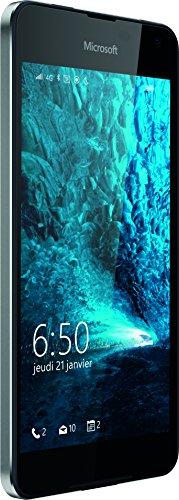 Microsoft Lumia 650 Smartphone débloqué 4G (Ecran : 5 pouces - 16 Go - Simple Nano-SIM - Windows Phone) Noir