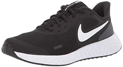 Nike Revolution 5, Running Shoe Unisex Adulto, Black White...