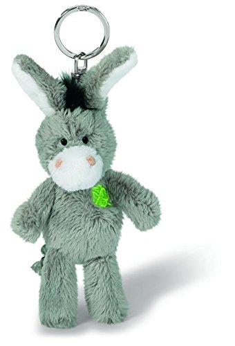 Nici 37688 - Esel mit gesticktem Kleeblatt, Plüschtier, 10 cm