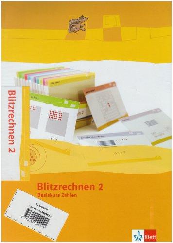Blitzrechnen 2: Kartei Klasse 2 (Programm Mathe 2000+)