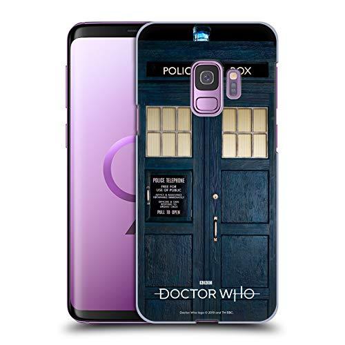 Head Case Designs sous Licence Officielle Doctor Who Tardis Saison 11 Art Clé Coque Dure pour l'arrière Compatible avec Samsung Galaxy S9