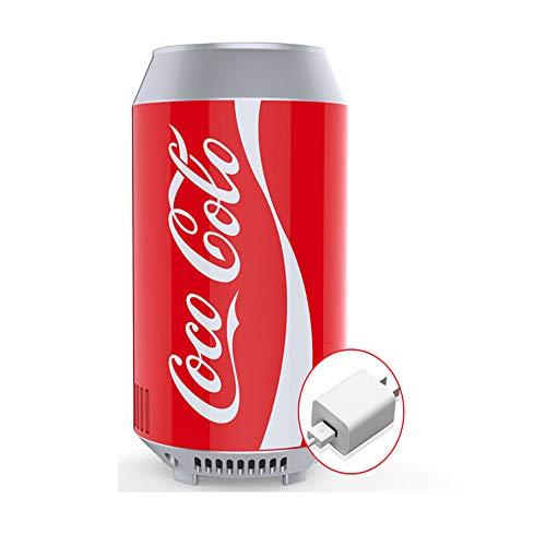 small-fridge Mini Can Cooler Coca-Cola Kühlschrank Auto Kühlschrank Auto Nach Hause Dual Use Kleine Kühlbox Heizung Schlafsaal Haushalt B