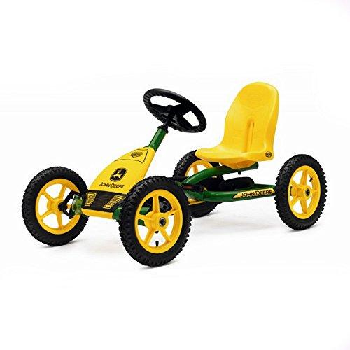 BERG Gokart Buddy John Deere | Kinderfahrzeug, Tretauto mit Optimale Sicherheid, Luftreifen und Freilauf, Kinderspielzeug geeignet für Kinder im Alter von 3-8 Jahren