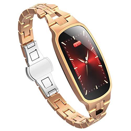 Elegante pulsera deportiva para mujer, reloj inteligente de período fisiológico con esfera...