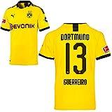 PUMA Borussia Dortmund BVB Heimtrikot 2019/20 Home Trikot Sponsor BL Logo Herren Raphaël Guerreiro 13 Gr S