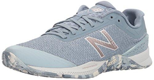 New Balance Women's 40v1 Minimus Training Shoe, Light Blue, 5 D US