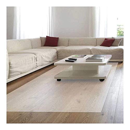 NINGWXQ Stoelmatten for Harde Vloeren, Tafel Beschermer Stoelmat for Hardhouten Vloer Vloermatten for Kantoor Stoel Mat, Kan Worden Geformuleerd (Color : Clear-2.0mm, Size : 120x150cm)