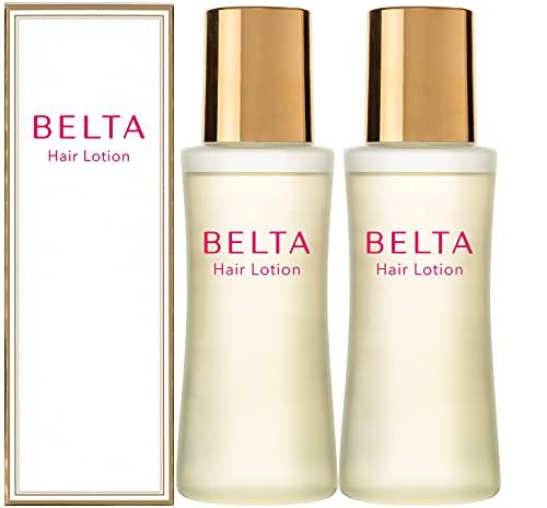 育毛剤 女性用 薬用 BELTA ヘアローション(2本セット) 抜け毛予防 薄毛対策 ヘア オイル 【医薬部外品】
