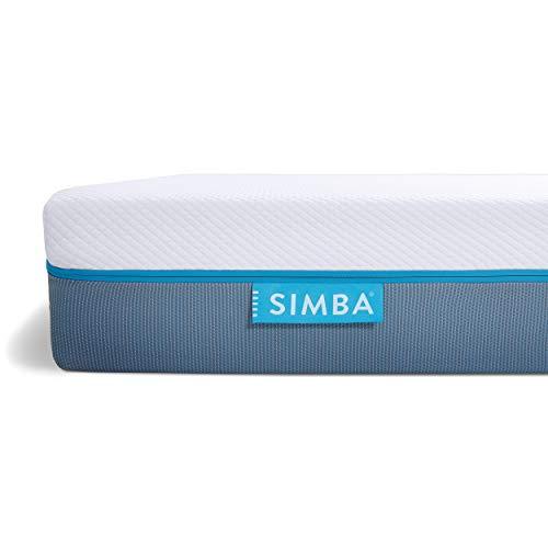 2) SIMBA Matelas Hybrid Double 140 x 190 cm | Mémoire de Forme et 2500 Ressorts Ensachés