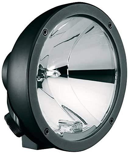 HELLA 1F3 009 094-061 Fernscheinwerfer - Luminator Compact - Halogen - H1 - 12V/24V - rund - Ref. 17,5 - glasklar - Anbau - Einbauort: links/rechts
