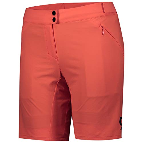 Scott Endurance 2021 Women's Cycling Shorts with Inner Shorts Flame Red Size: L (40/42)