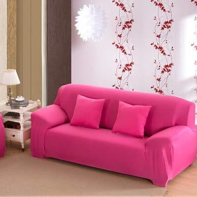 Conjuntos de sofás de Cuero con Todo Incluido, Funda Universal, Toalla, Tela de Verano, cojín para sofá, Funda para sofá, Funda dúo, Funda Completa A13, 4 plazas