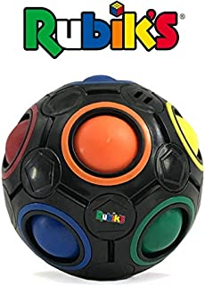 Rubik's Cube Rainbow Ball Color Matching Puzzle, Fun Addictive Educational Toy Adults & 4+ Kids, Develop Hands-On, Memory, Critical Thinking & Problem Solving Skills