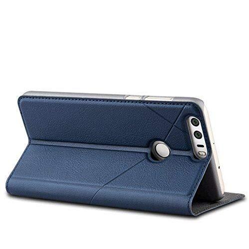 Bubunix Hua Wei Honor 8 Flip Case Hülle, Honor 8 Handyhülle, Geschäfts Art Leder Schlag Schutzhülle Tasche for Huawei Honor 8 - 4