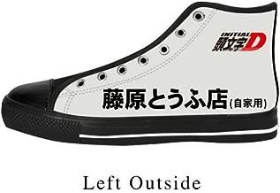 Initial D Anime AE86 Toyota Special Drift car Design Custom Fashion Sneaker Shoes
