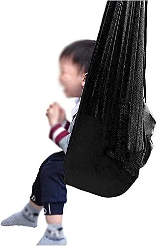 Terapia Swing Amaca Regolabile Aerial Yoga Swing per autismo ADHD e Swing ha un effetto calmante sui bambini con esigenze sensoriali (colore : Blu, Dimensioni: 150x280cm/59x110in)