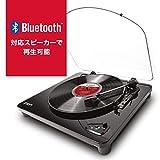 ION Audio レコードプレーヤー Bluetooth対応 USB端子 Air LP ブラック