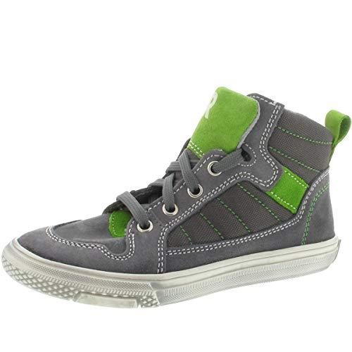Richter Sneaker high Größe 33, Farbe: grau/grün