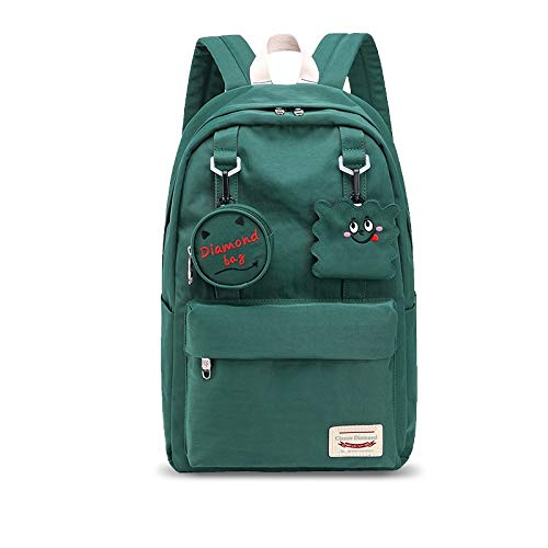 N / A JDSWL Backpack Nylon School Bag Travel Leisure Backpack Student School Bag