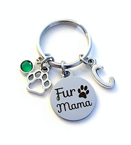 or Dog Gift for Women or Men Animal Lover Fur Babies Baby Memorial Gift for Fur Mama Present Always in my heart Keychain Cat Rabbit Ferret Hedgehog Sympathy Doggy Mom Key Chain Bunny Cat