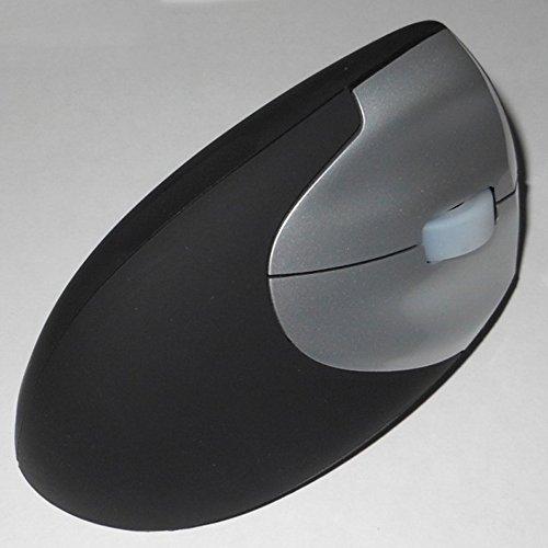 Preisvergleich Produktbild Spritech (TM 2, 4 G EV Laser Echthaar Ergonomischer Funk Maus 3 Tasten Vertikale Ergonomische Maus