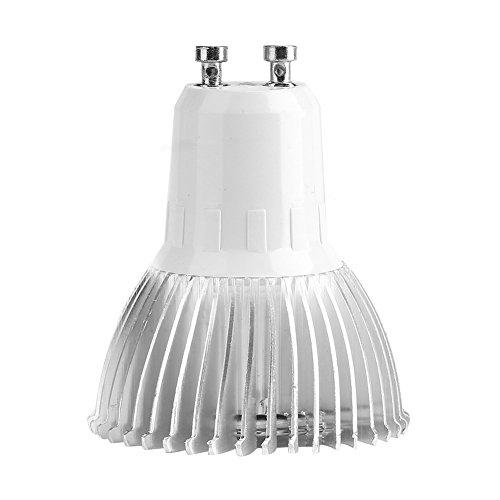 LED Wachstumslampe, Vollspektrum LED Wachstumslicht, 18W 18 LED Pflanzenlampe für den Innengarten, Familienbalkon Sämling/Zucht, Gewächshauspflanzung(GU10)