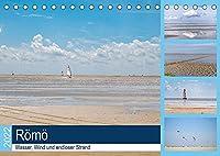 Roemoe - Wasser, Wind und endloser Strand (Tischkalender 2022 DIN A5 quer): Geniessen Sie eine Auszeit am Meer, mit 12 wunderbaren Strandaufnahmen von Roemoe. (Monatskalender, 14 Seiten )
