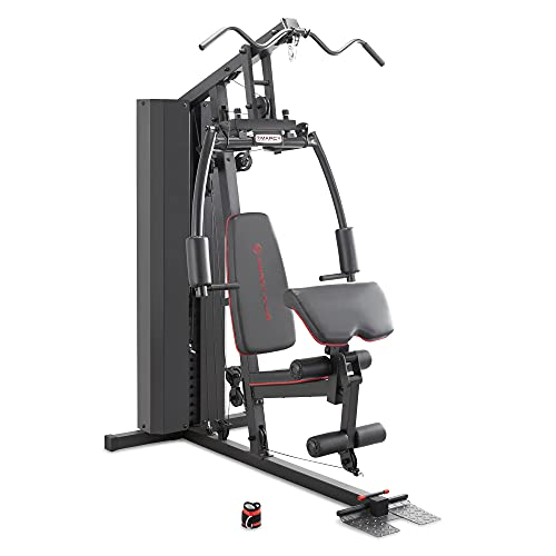 Marcy Stack Dual Function Home Gym – 200 lb. Stack...