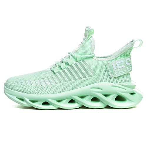 N-B Zapatos de jogging cómodos deportes al aire libre zapatos de los deportes de los hombres zapatos transpirables zapatos de caminar trotar zapatos