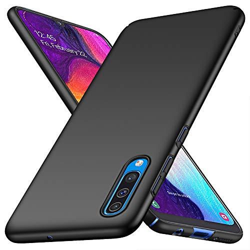 ORNARTO Coque Samsung A50,Coque A50 Finition Matte [Ultra Leger] [Ultra Mince] Anti-Rayures Coque Rigide Etui Housse pour Samsung Galaxy A50(2019) 6,4 Pouces Noir