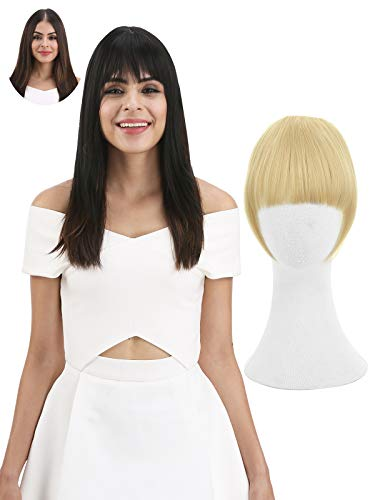Beauty Shopping REECHO Fashion Full Length Synthetic 1 Piece Layered Clip in Hair Bangs Fringe Hairpieces