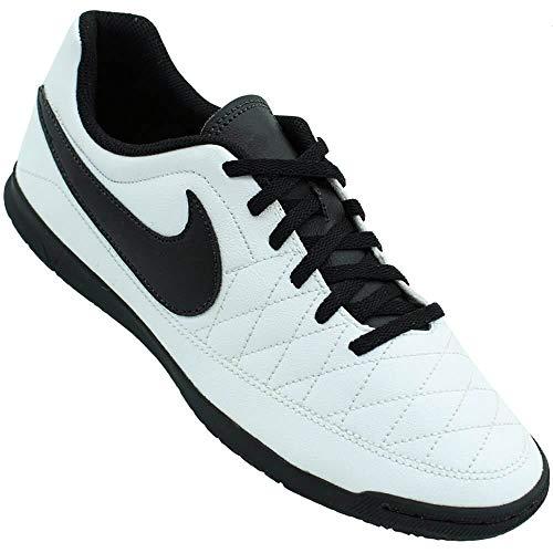 Nike Majestry IC, Zapatillas Unisex Adulto, Multicolor (White/Black/Amarillo 001), 43 EU