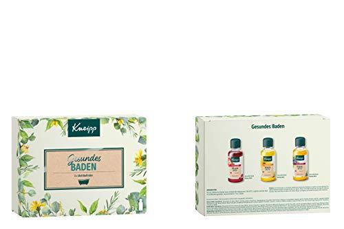Kneipp Probierset Baden Geschenkpackung - Gesundes Baden (3 x 20ml)