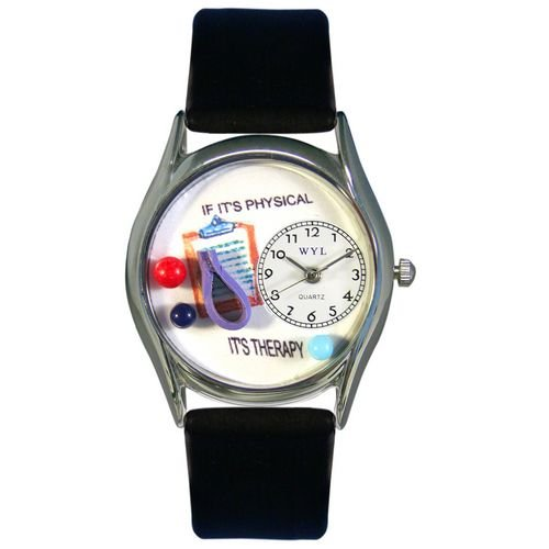 Physical Therapist Watch Small Silver Style