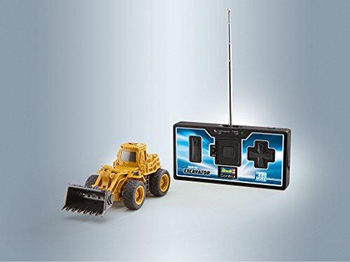 RC Auto kaufen Baufahrzeug Bild 6: Revell Control 23494 RC Baufahrzeug Radlader, 27MHz, Akku ferngesteuertes Auto, gelb-orange, 12,5 cm*