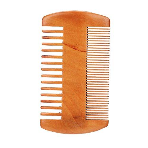 Filfeel Kit de Brosse de Barbe, Hommes Visage Barbe Nettoyage Brosse de Rasage Visage Masseur Groooming Appareil Outil(Beard Comb)