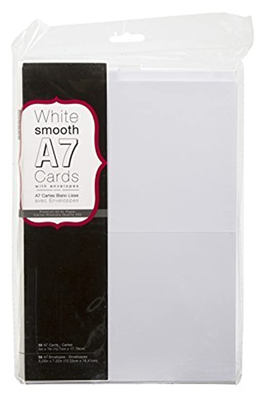 Darice 110366 Heavyweight A7 Cards W/Envelopes (5.25