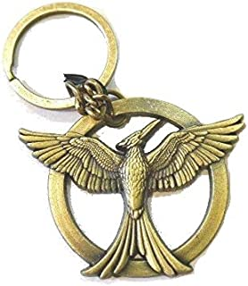 The Hunger Games Catching Fire Mockingjay Replica Metal Keychain
