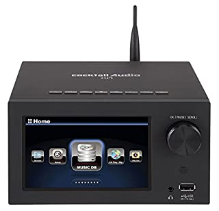 Stereo CS4350 DAC Chip con regolazione di fase integrata (PLL)/// Collegato da un amplificatore ad alte prestazioni da 30 Watt per canale della classe D (60 Watt) Schermo TFT LCD da 5 pollici (800 x 480 pixel) sulla parte anteriore del dispositivo co...