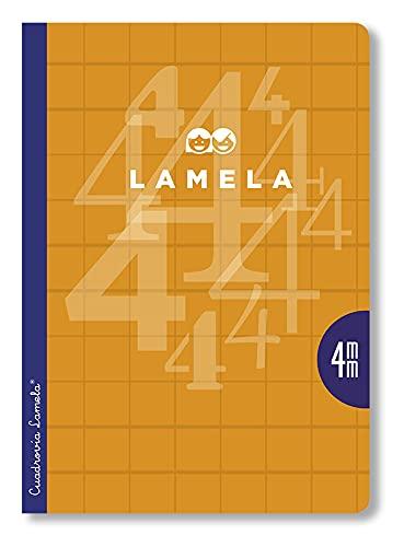 Editorial Lamela 06A403S Paquete 5 Libretas A4 - C 3 mm, 50 h. Pack 5 colores básicos surtidos