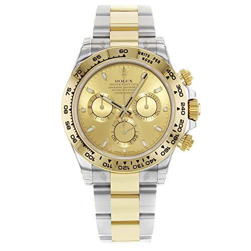 Rolex Cosmograph Daytona champagne quadrante acciaio e 18K giallo oro...