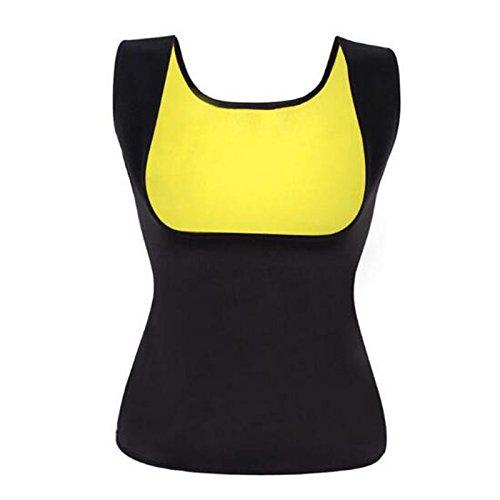 Heißer Shaper Bust Lifter Bauch In Fettverbrennung Body Shaper Slimming Vest Frauen ' Shapewear Vest,Black,M